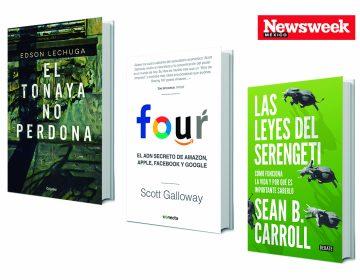 Tres recomendaciones literarias: novela, negocios, ciencia…