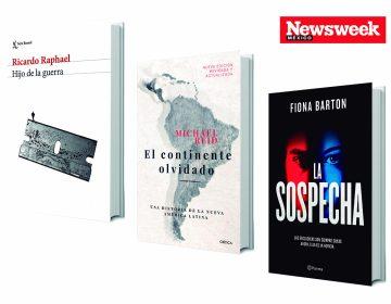 Tres libros: Ricardo Raphael, Michael Reid, Fiona Barton…
