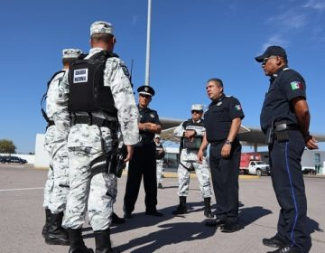 Entrega SSPE instalaciones de la puerta de acceso norte a la Guardia Nacional