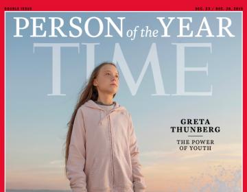 """""""El poder de la juventud"""": Time nombra 'Persona del Año' a la activista Greta Thunberg"""