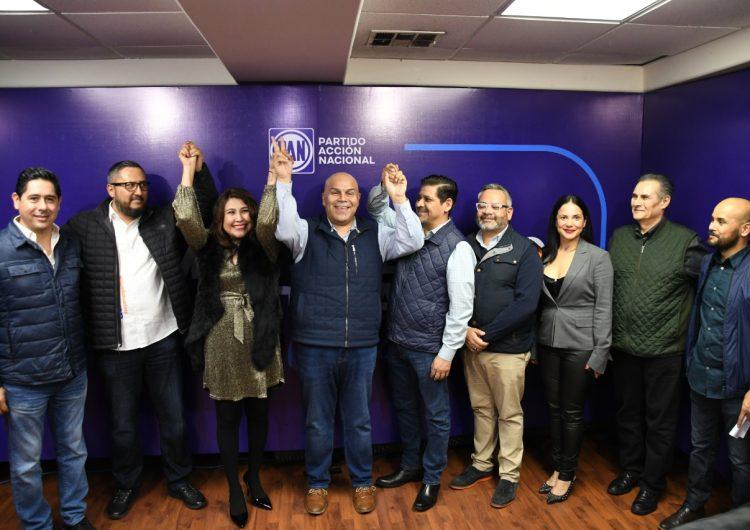 Gana Enrique Méndez Juárez dirigencia estatal del PAN
