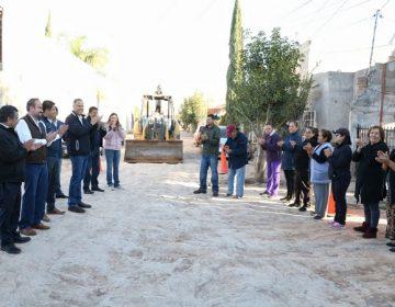 Inician obras de infraestructura en nueva administración de Jesús María