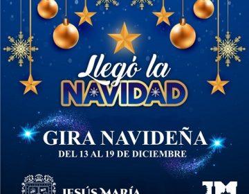 Llevarán gira navideña a comunidades de Jesús María