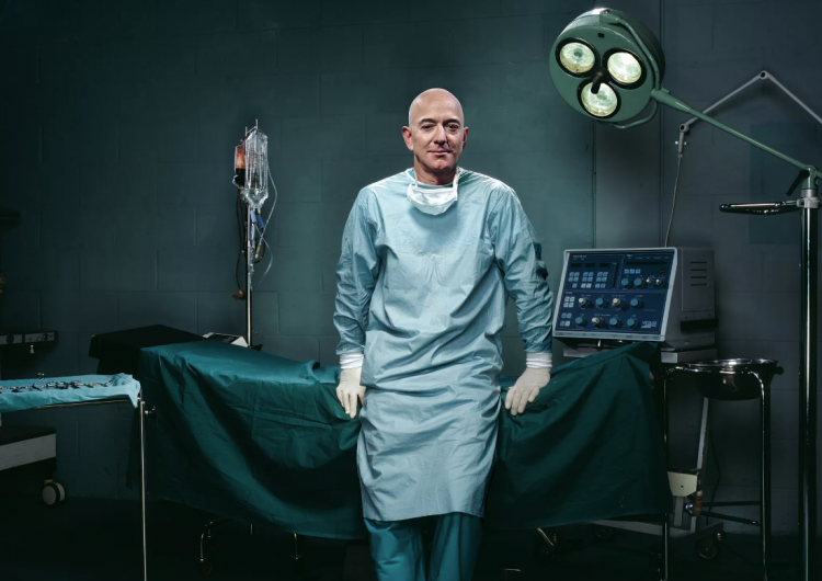 ¿Confiarías tu vida a Bezos? Amazon y otros gigantes incursionan en el negocio de la atención médica