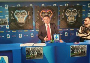 La Liga Italiana de Futbol usa monos en campaña contra el racismo y recibe críticas