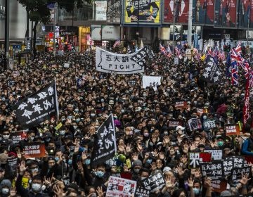 Hong Kong entra en 2020 con una masiva manifestación prodemocracia