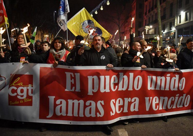 La huelga de transportes en Francia llega a un récord de 29 días