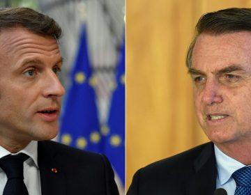 Jair Bolsonaro critica a Macron y Greta Thunberg por su silencio ante los incendios en Australia