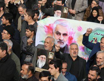 Principales reacciones en Irán tras la muerte de Soleimani