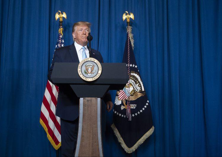 """""""Hicimos esto para evitar la guerra"""": Trump"""