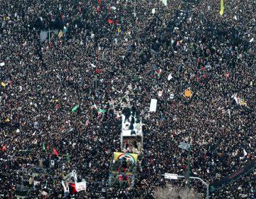 'Muerte a Estados Unidos': Miles despiden al general Soleimani en Irán