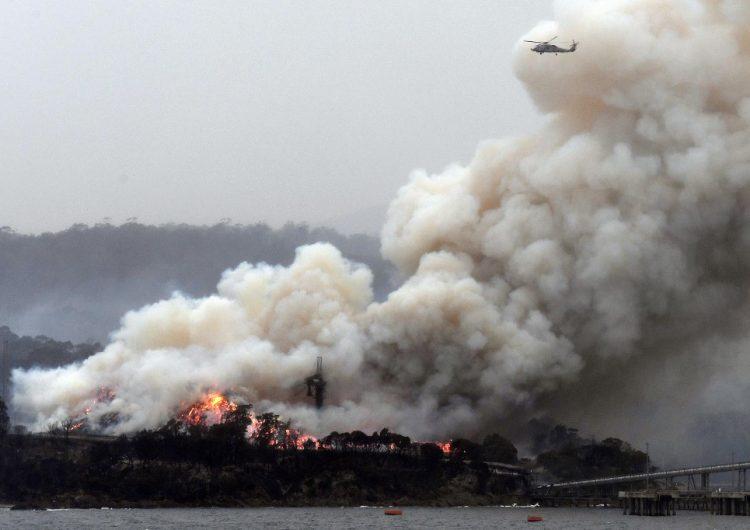 El humo de los incendios de Australia llega a Chile y provoca descenso de temperatura