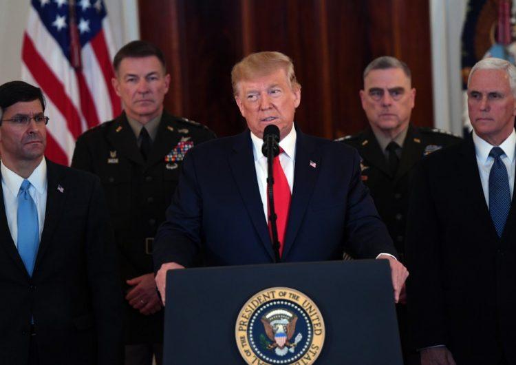 """Trump descarta bajas de EU en bases militares y dice que está """"dispuesto para la paz"""""""