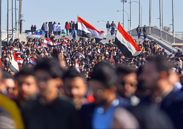 Convocan en Irak a gran manifestación contra presencia estadounidense