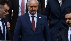 """Mariscal rebelde libio """"dispuesto"""" a ir a conferencia de paz…"""