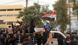 Tres manifestantes muertos por disparos de las fuerzas de seguridad…