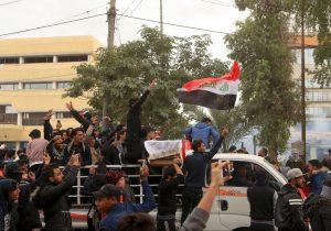 Tres manifestantes muertos por disparos de las fuerzas de seguridad en Irak