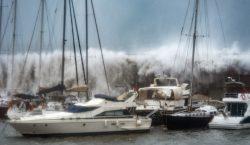 Galería | Alerta en España por nevadas y marejadas provocadas…