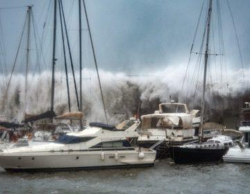 Galería | Alerta en España por nevadas y marejadas provocadas por la tormenta Gloria