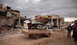 84,000 personas desplazadas en Siria durante los últimos nueve días…