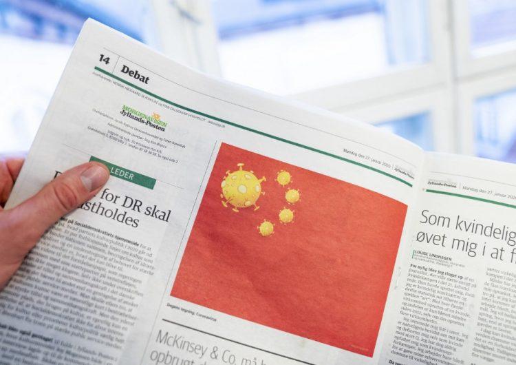 La caricatura de un diario danés sobre el coronavirus que provocó la ira de China