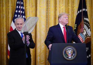 Trump devela su plan de paz, alabado por Israel pero rechazado por los palestinos