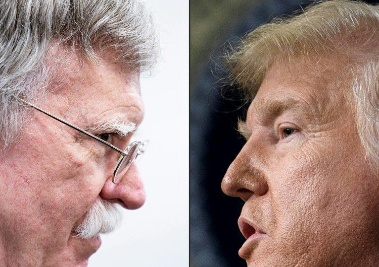 Trump ataca a su exasesor Bolton, quien podría perjudicarlo en el juicio político