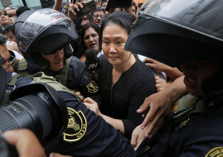 """Keiko Fujimori acusa """"venganza política"""" tras ser sentenciada a 15 meses de prisión preventiva"""