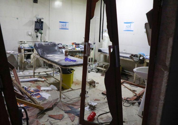 Mueren diez civiles en una serie de bombardeos que alcanzaron un hospital en Idlib