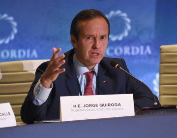 """Jorge Quiroga dimite a su puesto y acusa que los presidentes de México y Argentina """"intentaron cometer feminicidio diplomático"""""""