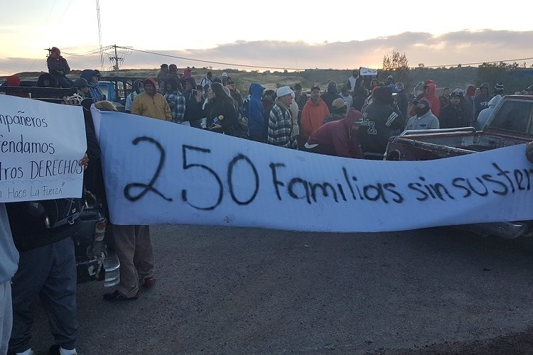 Bloquean pepenadores servicio del relleno sanitario en Aguascalientes