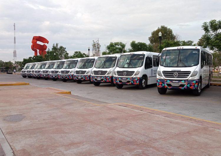 Circulan 77 camiones urbanos de antigüedad mayor a 10 años en Aguascalientes