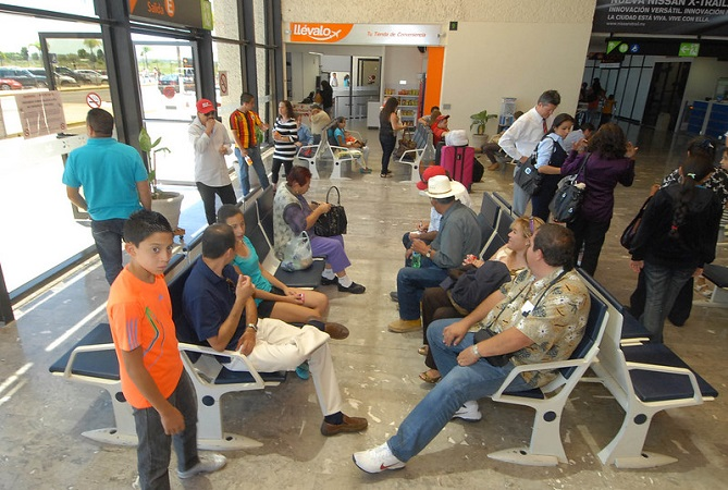 Refuerzan protocolos sanitarios en Aeropuerto de Aguascalientes por coronavirus