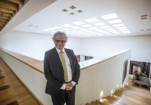 """Conversación con Amin Maalouf: """"No hemos respondido a los desafíos de progreso y la mundialización"""""""