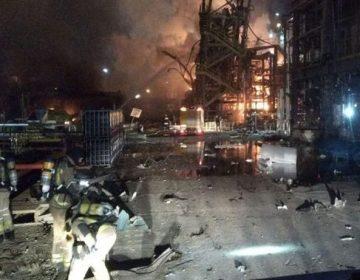 Un muerto y 8 heridos por explosión en planta química en España