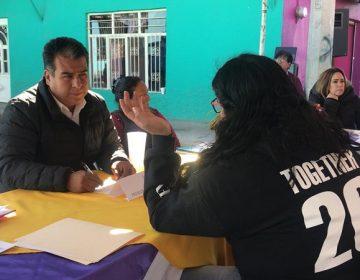 Funcionarios de Pabellón de Arteaga atienden necesidades sociales en colonias