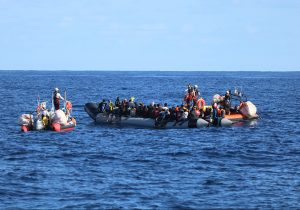 Libia: obligados a huir al mar