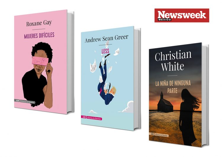 Tres libros: Roxane Gay, Andrew Sean Greer, Christian White…