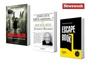 Tres libros: Diego Petersen, Zygmunt Bauman, Ivan Tapia…