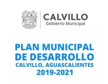 Recibe Congreso Estatal plan de desarrollo municipal de Calvillo