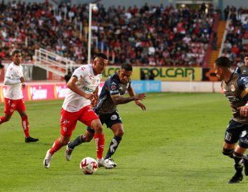 Necaxa rescata empate de último minuto al Atlético San Luis