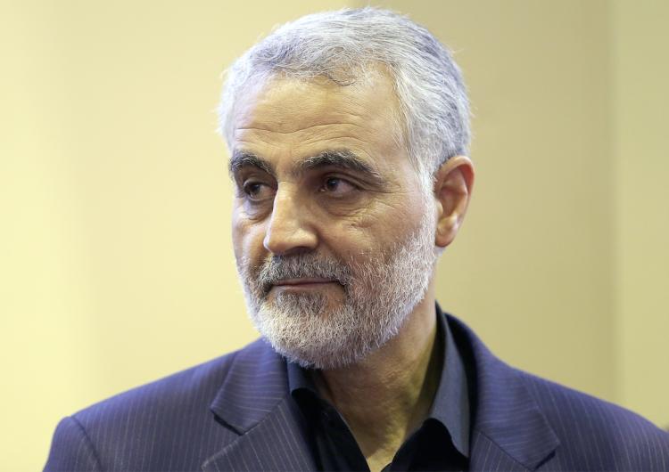 El general Qasem Soleimani. Foto: AFP
