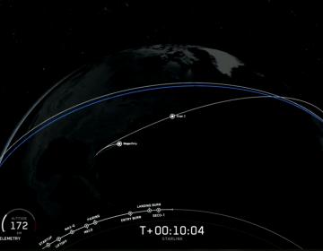 SpaceX, la compañía de Elon Musk, lanza su tercer lote de 60 mini satélites en órbita