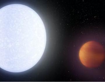 """Las moléculas de hidrógeno del """"Júpiter ultracaliente"""" se desintegran por las altas temperaturas"""