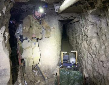 Así luce el túnel de 1.3 km que era usado para traficar drogas entre Tijuana y San Diego