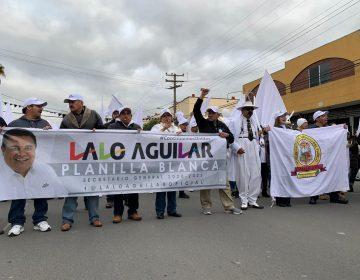 """""""Lalo"""" Aguilar busca la dirigencia de los burócratas en Tijuana"""