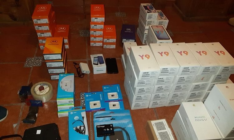 Catean domicilio de ladrones de celulares en San Francisco de los Romo