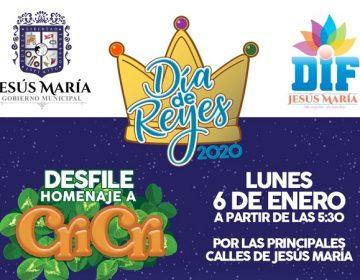 Celebrarán Día de Reyes con múltiples actividades en Jesús María