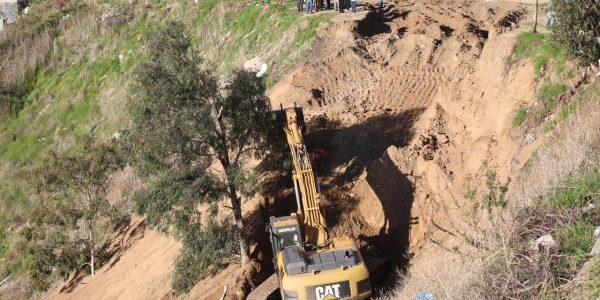 Continúan trabajos de limpieza en Cañón del Matadero