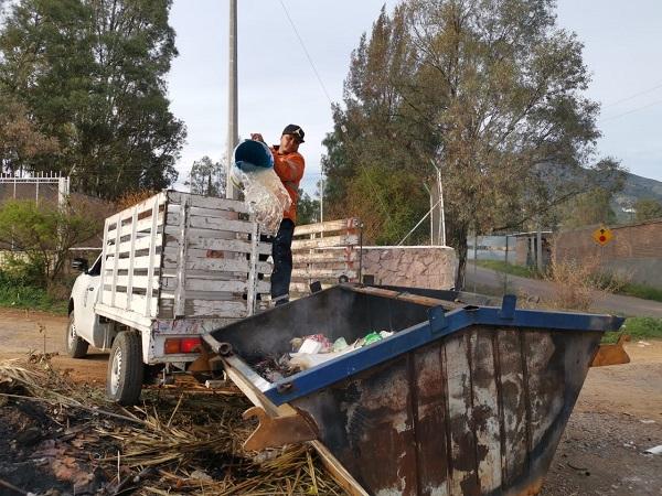 Más de 2 mil toneladas de basura generó Jesús María en temporada decembrina